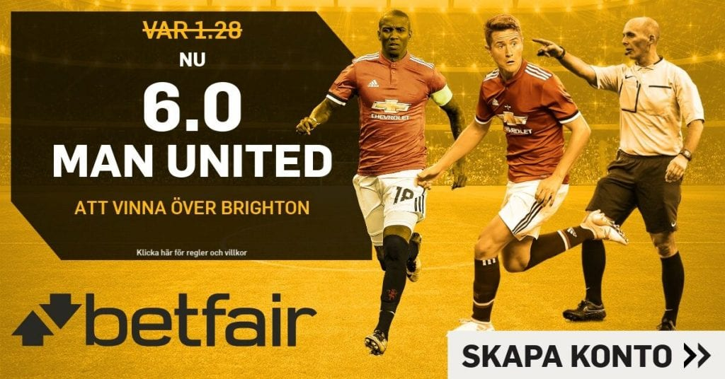 united-brighton boostade odds betfair