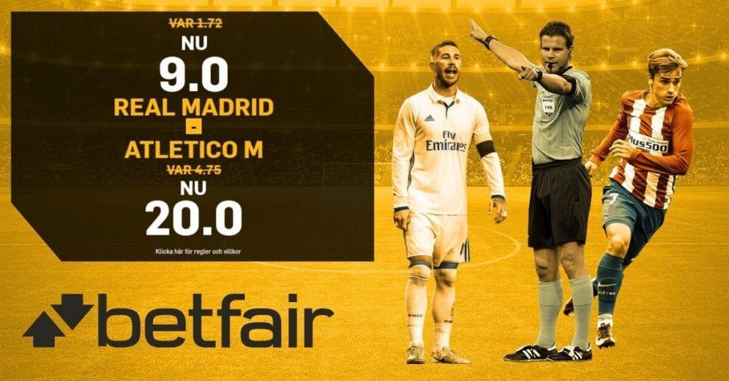 betfair oddsboost real madrid-atletico madrid