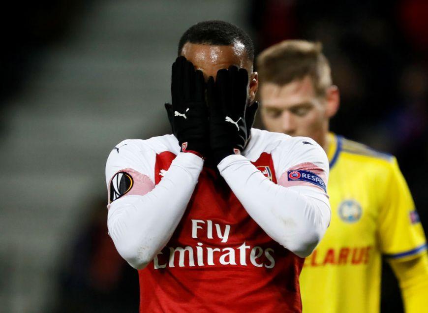 Arsenals förlust mot BATE Borisov