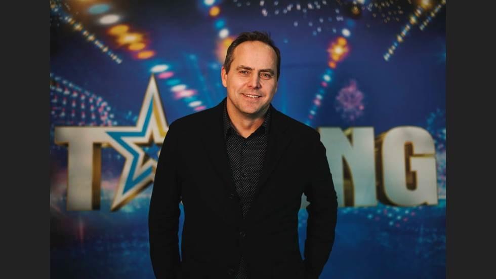 Micke Holm inför finalen av Talang 2019