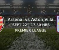 Bettingtips och analyser inför Arsenal – Aston Villa Premier League 22/9