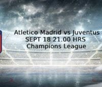Bettingtips och höga odds Atletico Madrid –  Juventus