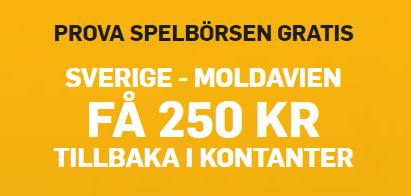 Sverige - Moldavien gratisspel
