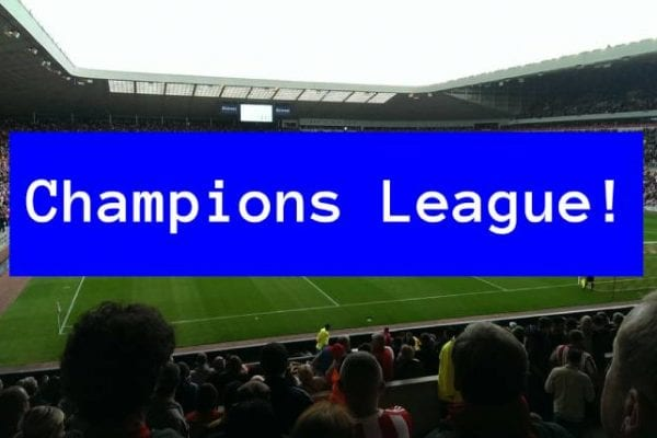 Champions League - Real Madrid Manchester City