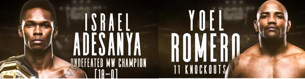 UFC Adesanya vs Romero