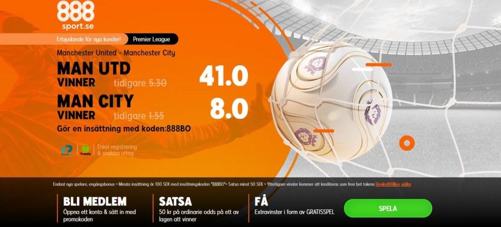 888sport oddsboost United vs City
